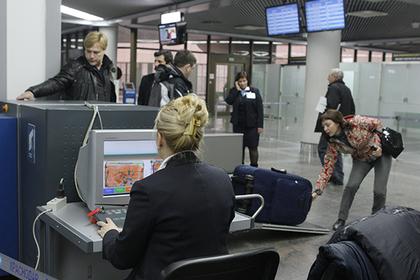 Пассажира задержали в московском аэропорту из-за шутки про бомбу