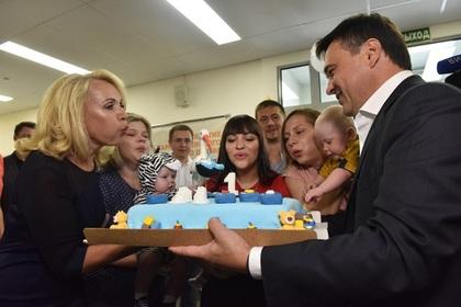 Воробьев поздравил Наро-Фоминский перинатальный центр с годовщиной
