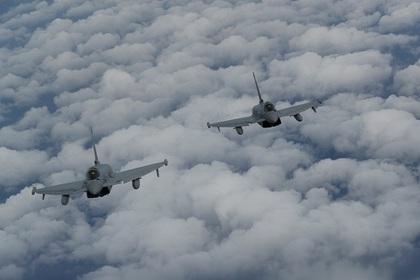 Британский «Тайфун» нанёс удар посирийским военным, атаковавшим советников коалиции США