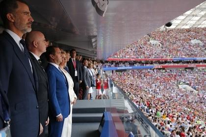 Путин позвонил королю Испании