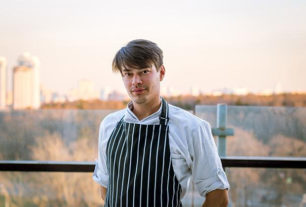 Шеф-повар ресторана «Облака» Антон Магдюк