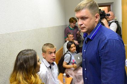 Александр Соловьев (справа)