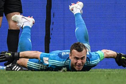 Акинфеев объяснил отбитый пенальти в матче с испанцами