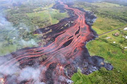 Извержение вулкана увеличило площадь США 04июля 2018 20:50