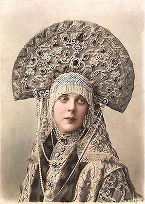 Княгиня Ольга Константиновна Орлова (урожденная княгиня Белосельская-Белозерская) на балу 1903 года