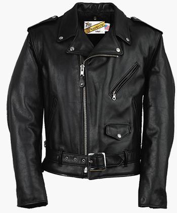 Черная кожаная куртка Schott Perfecto — непременный атрибут любого байкера 1950-х годов. Забавно, что из-за ужасного имиджа байкеров, сам бренд Schott долгие годы старался максимально дистанцироваться от этой субкультуры.