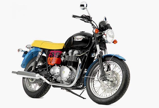 Иногда модные бренды разрабатывают специальные версии мотоциклов. Например, в 2006 году Triumph представил байк Bonneville by Paul Smith. Фирменные цвета великого дизайнера и ограниченный тираж всего в 50 экземпляров сделали этот мотоцикл настоящей мечтой коллекционеров.
