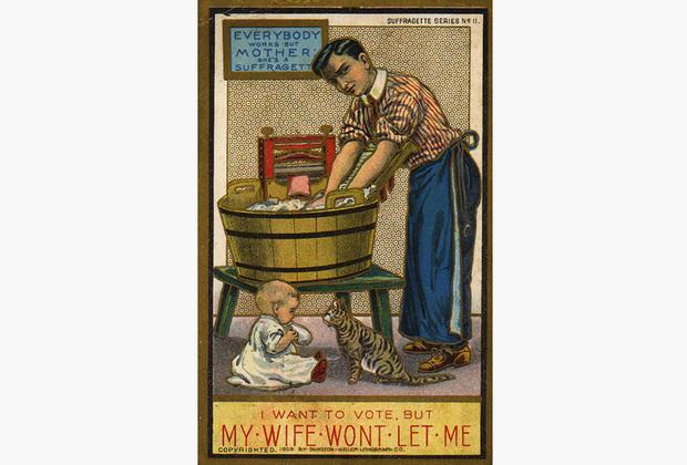 Лорд Керзон приводил и другие аргументы. У женщин «беспокойный темперамент» и «несбалансированный разум», и в особенности это проявляется в «экстренных ситуациях на фоне эмоционального перевозбуждения». Ему вторили и другие. Выступающий на митинге, состоявшемся в 1910 году на Трафальгарской площади, заявлял, что право голоса для женщин «выставит Англию на посмешище других европейских государств, принесет страдания в наши дома и положит конец Британской империи».