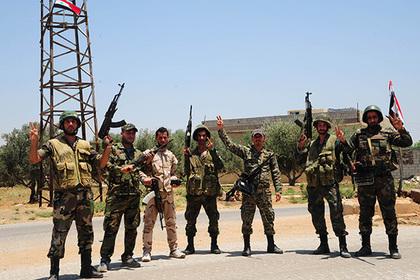 ВСирии войска взяли под контроль КПП «Насиб» награнице сИорданией