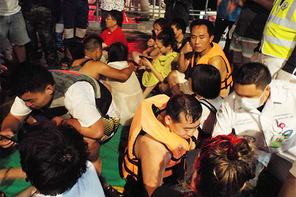 Десять туристов найдены мертвыми в Таиланде после крушения лодки