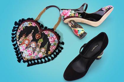 D&G выпустил коллекцию обуви и аксессуаров «Матрешка»