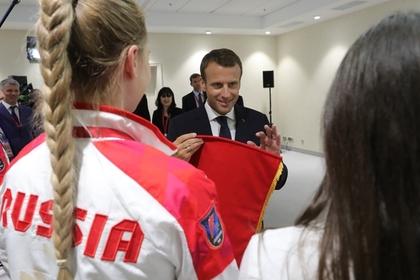 Кремль «рад» планам Макрона посетить Российскую Федерацию ради полуфиналаЧМ