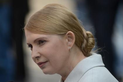 Лидер украинской партии «Батькивщина» Юлия Тимошенко