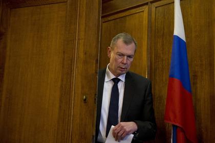 Постоянный представитель России при ОЗХО Александр Шульгин