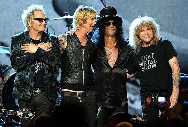14 апреля 2012 года Guns N' Roses были официально включены в Зал рок-н-ролльной славы