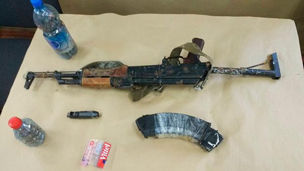 Из материалов уголовного дела: АКМ, из которого Краснояров расстреливал жителей в поселке Песчанка.
