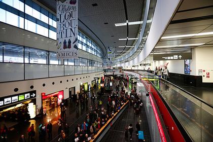 Аэропорт Вены заблокировали из-за американки сгранатой