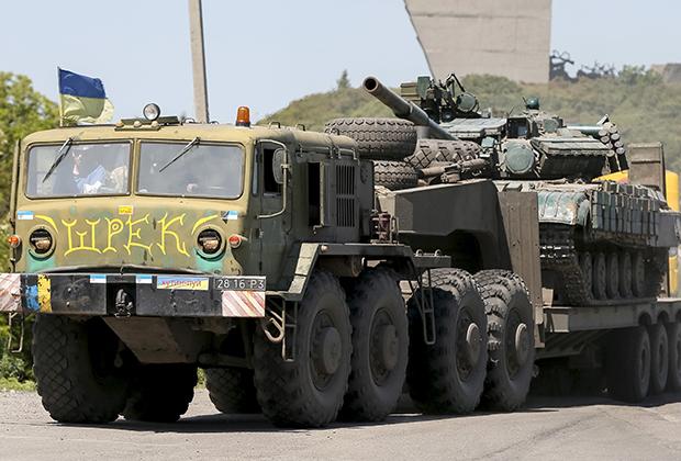 Все вооружение украинской армии досталось ей от СССР