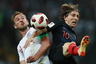 Футболисты сборной Англии и Хорватии