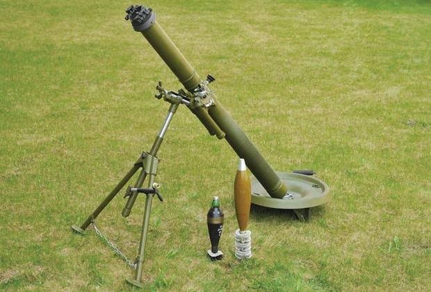 82-миллиметровый миномет 2Б14-1 «Поднос»