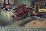 В 1940-х Кало нашла ретабло (распространенные в странах Латинской Америки иллюстрации бытовых ситуаций, в которых верующим помогают святые), который походил на изменившую ее жизнь аварию — на нем была изображена девочка, оказавшаяся под колесами трамвая, столкнувшегося с автобусом. Фрида добавила к рисунку надписи на автобусе и трамвае, а пострадавшей пририсовала свои густые брови.