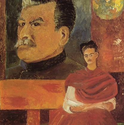 Фрида и Диего были членами коммунистической партии Мексики. Политические убеждения Кало нашли отражения в работах, написанных в последние годы ее жизни.