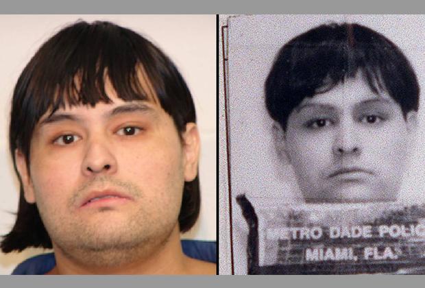 Энтони Жиньяк на полицейских фотографиях 1991 и 1995 годов