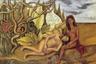 Кало заводила романы не только с мужчинами, но и с женщинами. На бисексуальность художницы намекали не только строчки ее дневника, в котором она описывала, в частности, чувства к Жаклин Ламбе, жене писателя Андре Бретона, но и ее картины.