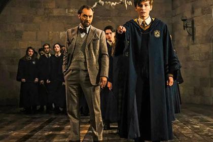 В кадре из нового спин-оффа «Гарри Поттера» нашли киноляп