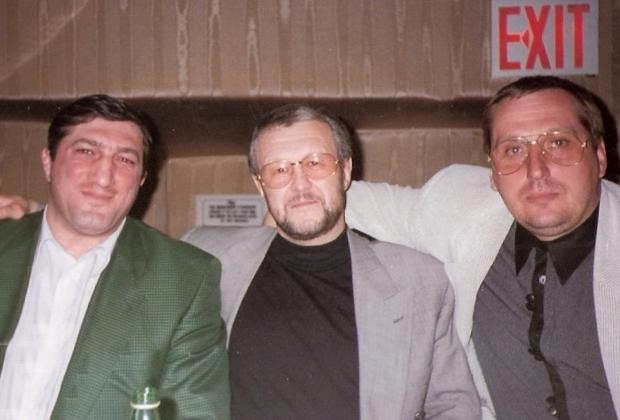 Япончик и Александр Тимошенко (Тимоха, справа) в США