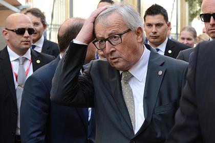 Шатающийся и подхваченный Порошенко глава Еврокомиссии попал на видео