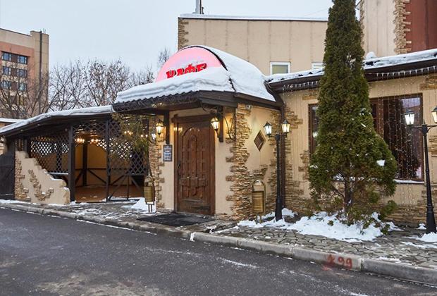 Ресторан «Фидан» на Рязанском проспекте (сейчас кафе «Виктория»)