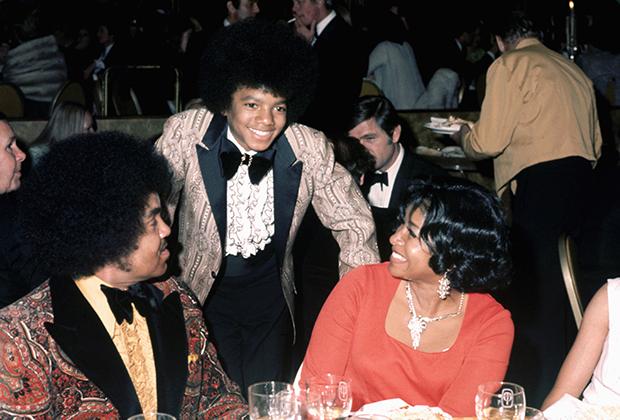Джозеф, Майкл и Кэтрин Джексон, 1973 год