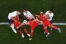 Сборные Англии и Бельгии дважды встретились на турнире, и оба раза «Три льва», казалось, не особенно хотели побеждать. В третьем матче группового этапа они решали, кто попадет в одну сетку плей-офф с Бразилией, причем нелегкий билет должен был достаться именно победителю очной встречи. В итоге решительные бельгийцы одержали верх, обыграли Неймара и компанию, а потом уступили в полуфинале. Как и англичане. В итоге они вновь сыграли в матче за третье место, и желания взять медаль у «красных дьяволов» было куда больше. Потому и счет оказался 2:0 в их пользу.