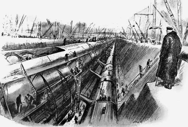 Строительство арктического моста