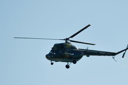 На Украине пьяный пилот снес вертолетом линию электропередач