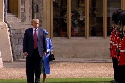 Трамп пренебрег этикетом и «оскорбил Великобританию»