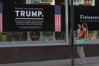 Финнам пригрозили неприятностями за желание подсмотреть за Путиным и Трампом