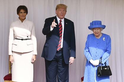Трамп проболтался о разговоре с Елизаветой II и снова нарушил этикет
