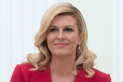 Президент Хорватии заговорила по-русски перед финалом чемпионатом мира