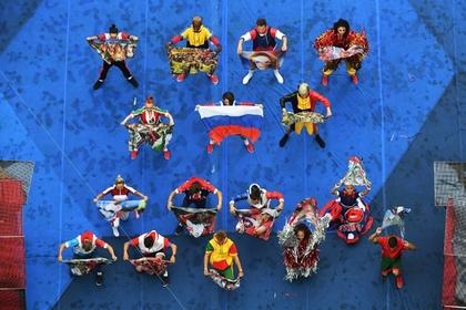 Церемония закрытия чемпионата мира по футболу
