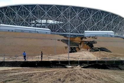 Оценен ущерб подтопленному ливнем стадиону чемпионата мира