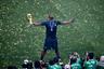 Французы не были безупречными на этом чемпионате мира. Напичканная звездами команда играла в прагматичный футбол, символом которой стал Поль Погба. Свободолюбивый полузащитник весь турнир играл на команду, а в конце был вознагражден голом. Уже став чемпионом мира, Погба подошел к трибунам и обратился к тем, кто его критикует. Ответа от них игрок не услышал.