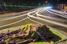 20-летняя Амена выросла на тротуарах, ночуя в парках. Сейчас она не может найти приют в городских зеленых зонах из-за запрета правительства. Поэтому ей приходится спать на разделительных полосах, либо на перекрестках с круговым движением. Фотография сделана в городе Читтагонг в Бангладеш. Изображение из проекта «Плывущие герои», получившего первый приз в категории «Серия».