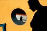 Цикл «В погоне за собой», состоящий из изображений теней или затемненных фигур людей, занял второе место в категории «Серия».