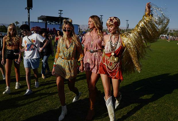 Фестиваль Coachella в Калифорнии, 2018 год