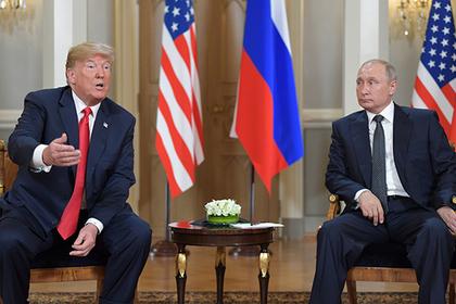 Путин понадеялся на оздоровление отношений после беседы с Трампом