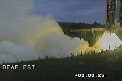 Испытан новый двигатель для замены «Союз-СТ-Б»