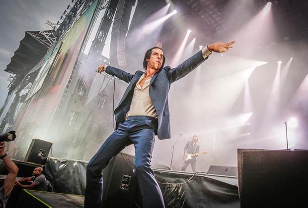 На сцене Nick Cave & The Bad Seeds. Август 2014 года