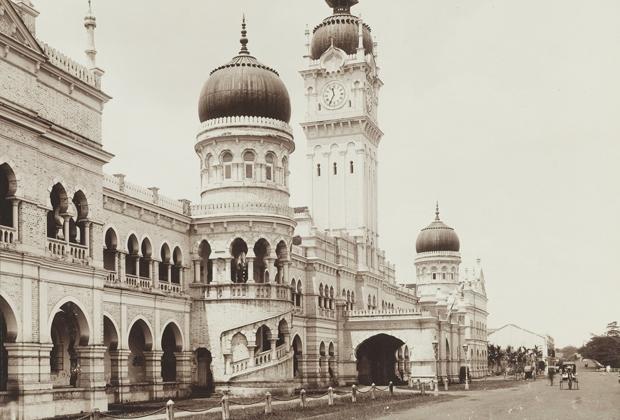 Куала-Лумпур в 1900 году